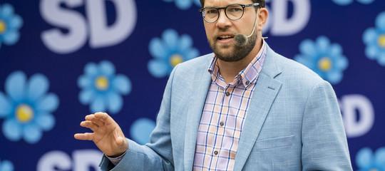 La lunga corsa dell'estrema destra svedese, che adesso punta alla maggioranza