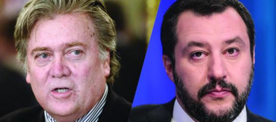 C'è qualche crepa nell'internazionalesovranistadiBannone Salvini