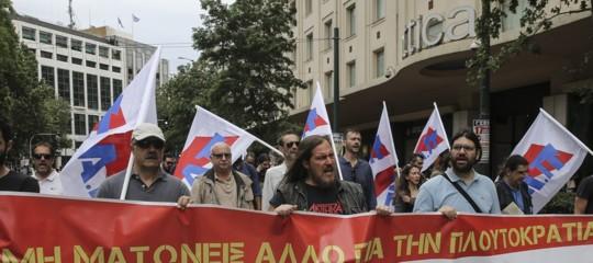 Grecia austerità proteste