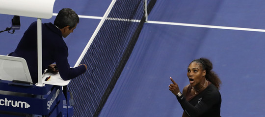 Un utile retroscena sulla furiosa litigata di Serena Williams con l'arbitro agli Us Open