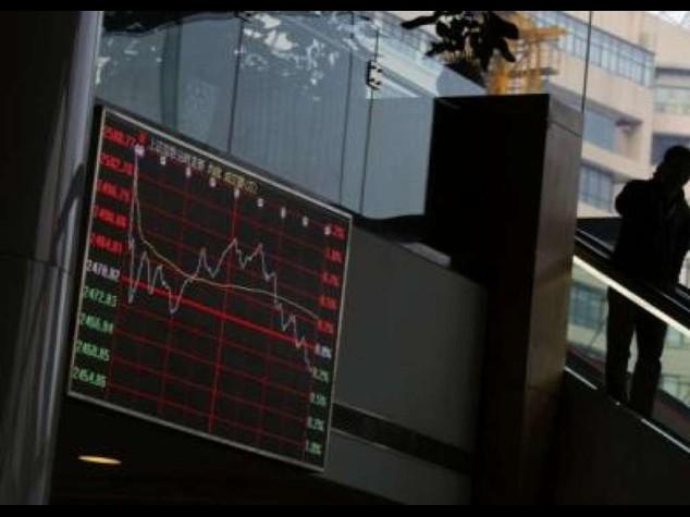 e5bca4743d A sorpresa crolla borsa di Shanghai, in chiusura perde il 5, 43%