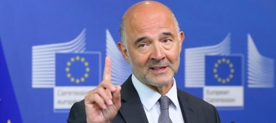 """Moscoviciavverte: """"L'Italia è un problemanell'Eurozona"""""""