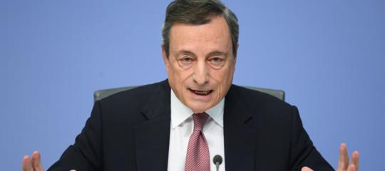 Bce: Draghi, da Italia aspettiamo i fatti, parole hanno creato danni