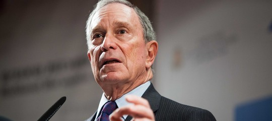 Usa: Times,Bloombergcorrerà per la Casa Bianca per i Democratici nel2020