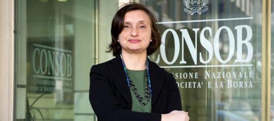 Consob: Anna Genovese nominata presidente vicario