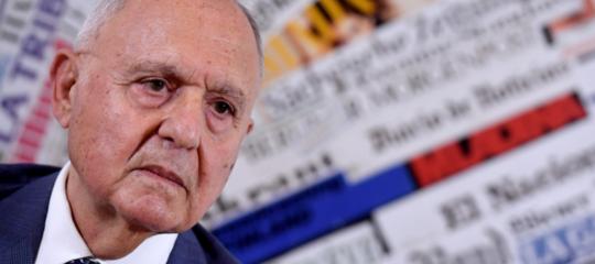 """Paolo Savona ha precisato il suo giudizio su Mario Draghi: """"Un valente presidente"""""""