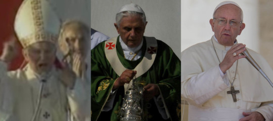 Tre Papi sono andati in Sicilia ad ammonire i mafiosi