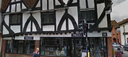 skripal malore ristorante italiano Salisbury