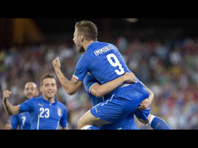 Euro 2016: Italia-Croazia 1-1, segna Candreva; il pari su errore di Buffon