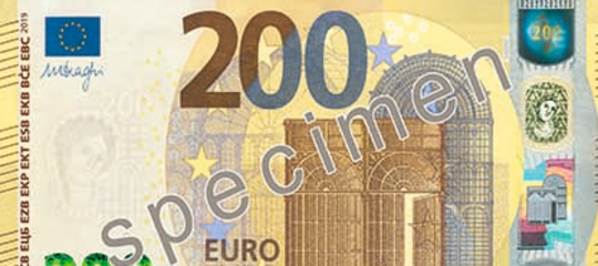 Bce nuove banconote