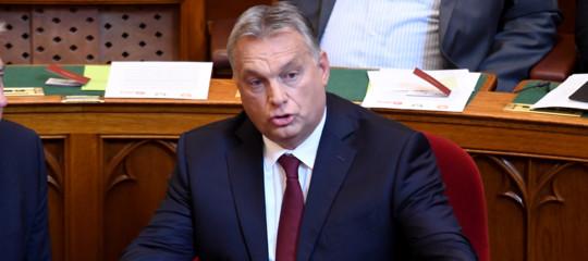 Ungheria:Orban, pronti al ricorso sul voto dell'Europarlamento