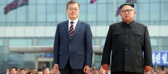 Coree: Moon vola aPyongyangper il terzo incontro conKim