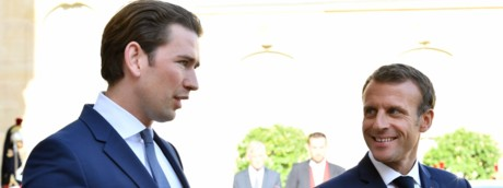 Kurz e Macron