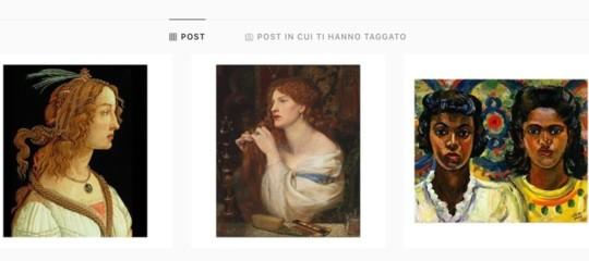 Altro che modelle oinfluencer. Su InstagramGucciracconta la bellezzaattraversola storia dell'arte
