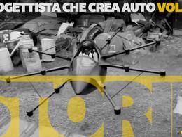 """Storie in 60"""": Il progettista che crea auto volanti"""