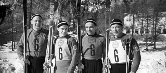 olimpiadi invernali cortina 1956