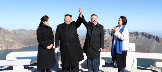 Su pace e disarmo le Coree vanno avanti da sole, a prescindere daTrump