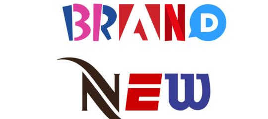 """Usare i loghi dei brand per creare """"il font dei font"""". Storia di Brand New Roman"""
