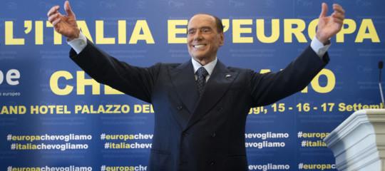 berlusconi ritorno salvini europee lega