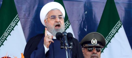 iran attentato parata