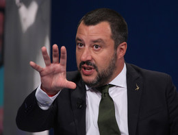 """Salvini: """"Più dicono che siamo razzisti più noi arriveremo al 51%"""""""