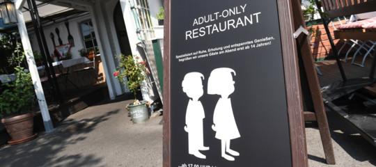 ristorante vietato bambini