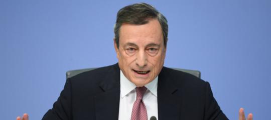 Draghi: mai nessun privilegio concesso all'Italia
