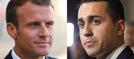di maio conti pubblici francia macron