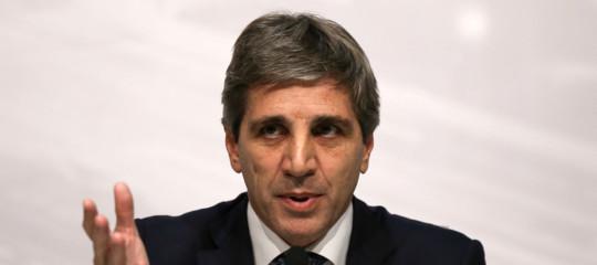 Argentina dimissioni governatore Banca centrale