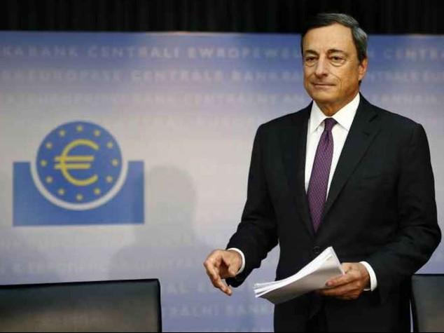 """Draghi: """"la crescita e' modesta, pronti ad agire"""""""