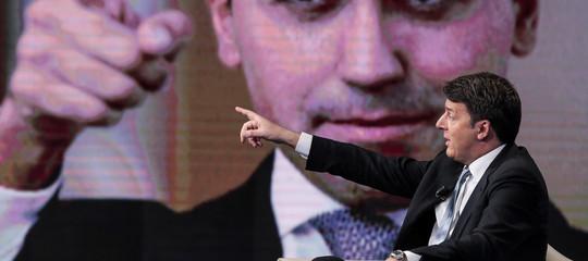 """Renzi: """"Di Maio oramai non è più lucido, lavorare lo stressa"""""""