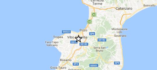 Terremoto: scossa di magnitudo 4,2 nel sud della Calabria