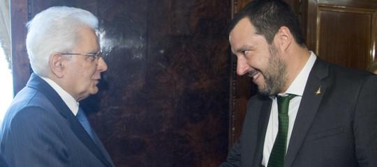 """Manovra, Salvini risponde a Mattarella: """"Stia tranquillo, si punta su crescita"""""""