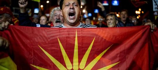 Il referendum per il nuovo nome della Macedonia è fallito