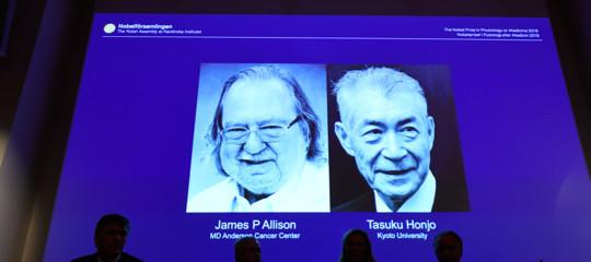 Nobel: premio per la Medicina aAllison-Honjoper la terapia sul cancro