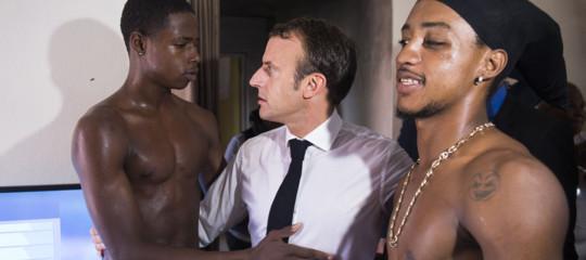 La polemica del giorno in Francia è su questa foto