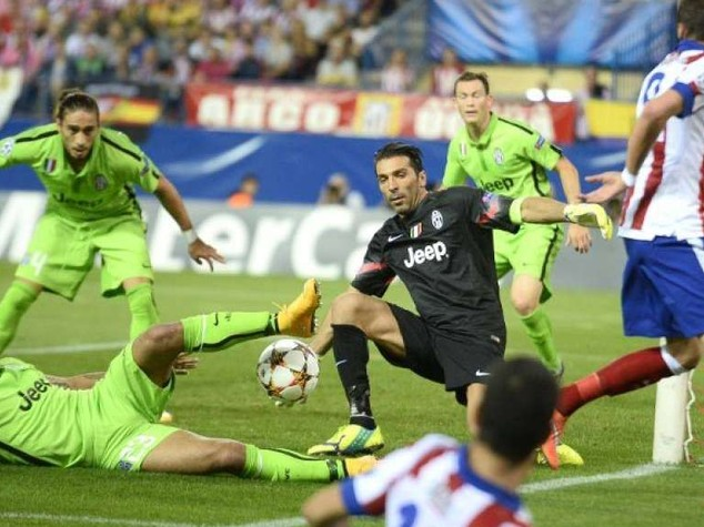 Champions: Juve ko al Calderon, vince l'Atletico 1-0