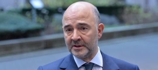 Manovra Moscovici deficit Ue governo