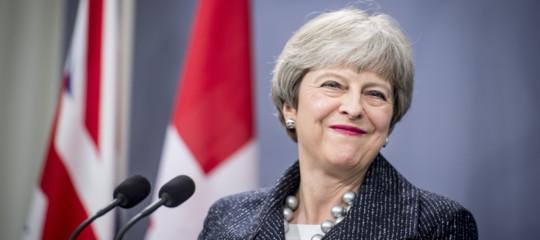 Brexit May libertà movimento