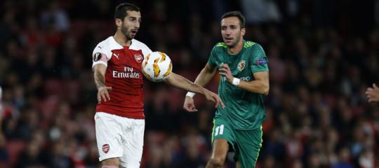 Niente Europa League,l'ArsenallasciaMkhitaryana casa. Un caso politico