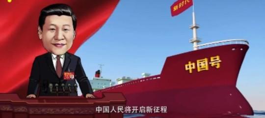 XiJinpingdiventa un quiz televisivo per trasformare imillennialin bravi comunisti