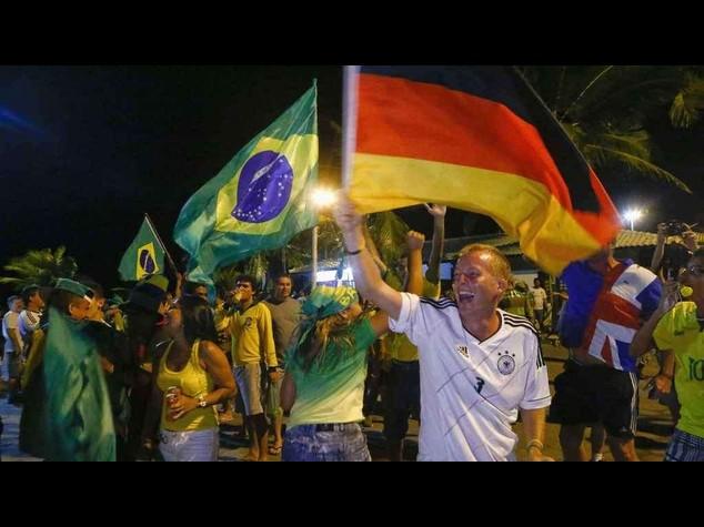 Germania e Brasile in semifinale. Lacrime per Francia e Colombia