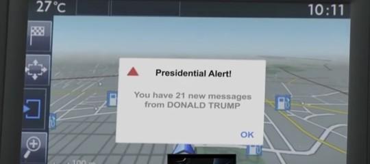L'smsdel presidente che ti avvisa del terremoto (o del maltempo)