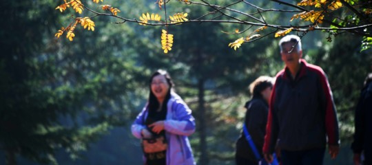 A passeggio nel parco per cercare moglie ai figli single: un fenomeno tutto cinese