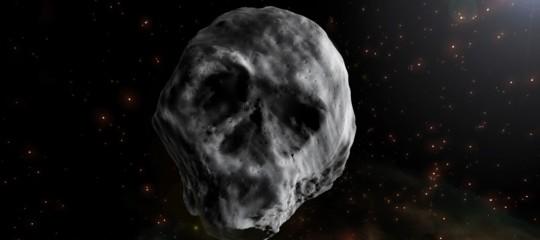 Occhio all'asteroide diHalloweenche ha davvero la forma di un teschio