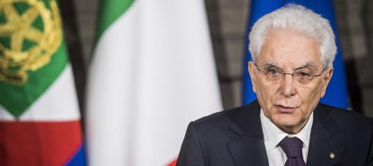 """Mattarella: """"La nostra forza è non retrocedere su diritti persona"""""""