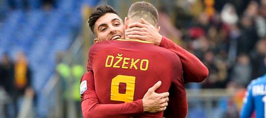 Calcio: Empoli-Roma 0-2