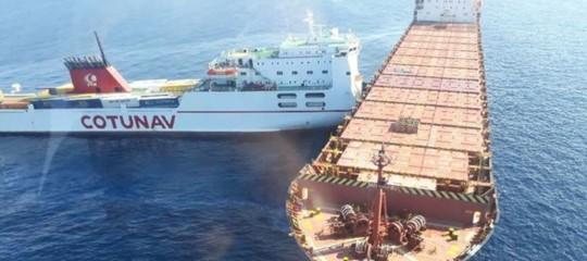 Corsica: scontro tra due navi, nessun ferito ma liquidi non ancora identificati in mare