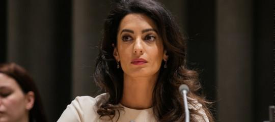 L'appello diAmalClooneycontro le stragi di ostaggi drusi da partedell'Isis