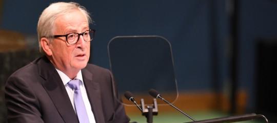 Ue,Juncker: sbarrare strada alla marcia di nazionalisti ottusi